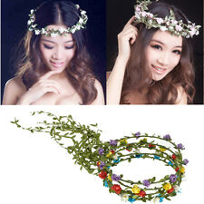 Hot Garland Floral Flower Bridal Headband Hairband Wedding Prom Hair Accessories