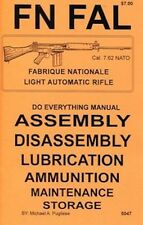 FN FAL DO EVERYTHING MANUAL ASSEMBLY DISASSEMBLY CARE BOOK NEW