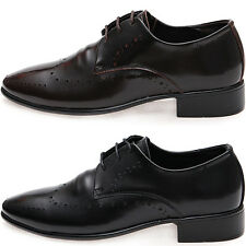 New Mooda Leather Lace up Fashion Formal Oxford Men Derby Dress Shoes
