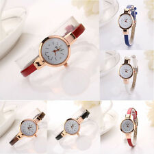 Fashion Retro Women Lady Round Quartz Analog Bracelet Wristwatch Watch Gift Don