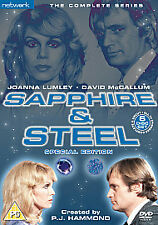 Sapphire And Steel - Series 1-6 - Complete (DVD, 2008, 6-Disc Set, Box Set)
