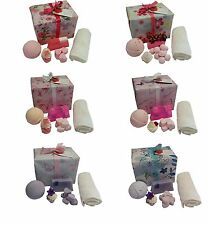 Mothers Day Bath Bomb Gift Set, Soap and Bath Creamer Gift Sets