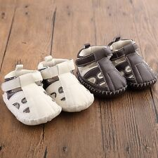 2016 Newborn sandals toddler baby shoes soft-soled shoes Boys Girls slippers #QM