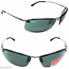SUNGLASSES 100%UV RB3183-00 RAY BAN METAL UNISEX LIFESTYLE 7 COLORS FROM ITALY