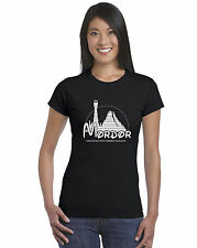 Mordor One Does Not Walk In LOTR Hobbit Ladies T-Shirt Multiple Colours Sizes