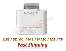 Camera Connection Kit 5in1 Card Reader Support USB SD TF MS MMC iPad 5 4 3 2 1