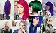 DCASH Master Permanent Hair Dye Color Cream,Violet,Blue,Green,Cherry pink,Gray