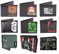 STAR WARS: Mens Bi Fold Wallet With Coin Pocket New Official Lucasfilm Disney