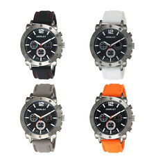 Henley Gents Fashion Silicon Strap Big Dial Authentic Watch H02108.3