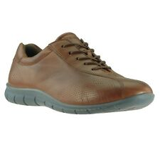 NEW ecco Babett Lace Shoes Women's Lace up Sneaker Brown 210203 01195 SALE