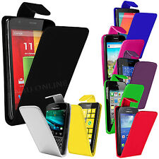 PREMIUM PU LEATHER FLIP POUCH COVER PHONE CASE COVER FOR VARIOUS MOBILE PHONES