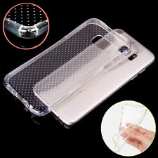 Shockproof TPU Silicone Gel Clear Soft Case Cover for Samsung J5 J7 S6 S7 Edge