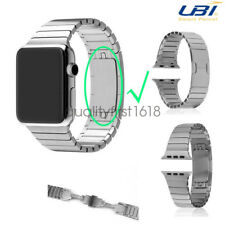 Butterfly Lock Link Stainless Steel Strap Watch Band for Apple Watch Series 2 /1