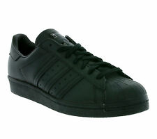 NEW adidas Originals Superstar 80s Shoes Trainers Black S79442