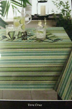 Tommy Bahama Indoor/Outdoor Striped Tablecloth  Water Repellent Asst. Sizes