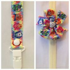 paw patrol dummy clip headband bow skye binky dummie everest girls
