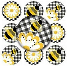 Bumble Bee Edible Cupcake Toppers Decoration