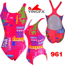 NWT YINGFA 961 TRAINING RACING COMPETITION SWIMSUIT US MISS 2,4,6,8,10,12 ALL Sz