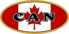 Canadian Flag CanadaCountryCode Decal / Sticker