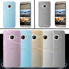 Ultra-thin Clear Soft Transparet TPU Gel Matte Back Cover Case For HTC Mobles