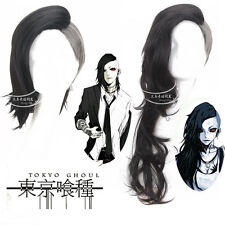 Anime Tokyo Ghoul Uta Wig Black and White 30cm/75cm Short long Cosplay Wig