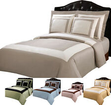 Egyptian Cotton 10PC Hotel Down Alternative Bed in a Bag