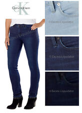 Calvin Klein Ladies' Ultimate Skinny Jean - Stretch Denim - Slim Fit - NEW!