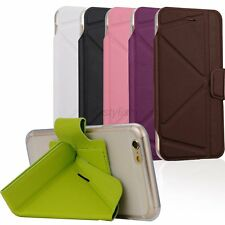Flip Magnetic PU Leather Skin Cover Stand Wallet Case For Apple iPhone SE 5 5s