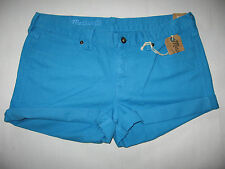 MADEWELL BRAND NEW (NWT) WOMENS COTTON JEANS STYLE SHORT SHORTS Retail:$59.00