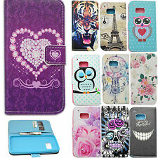 Flip PU Leather Phone Wallet ID Card Pouch Slot Stand Case Cover For HTC ONE M9