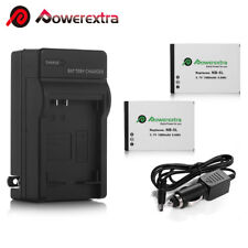 1500mAh NB-5L Battery + Charger For Canon PowerShot S100 SX200 SX210 IS SX230 HS