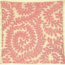 "Laura Ashley Berkley Scroll Berry Pink 16"" Cushion Cover"