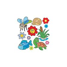 stickers kit child sheet of stickers Animals ref 3686