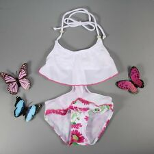 HOT! Girls Baby Kid One-Piece Fresh Flower Swimsuit Bathing Suit Swimwear
