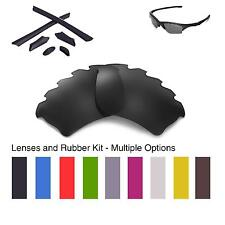 Walleva Vented Lenses and Rubber Kit for Oakley Half Jacket XLJ-Multiple Options