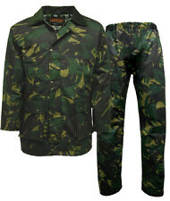 Mens GAME British Made Camo Camouflage Wax Jacket / Trousers - Hunting, Fishing