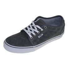 VANS shoes - Trainers CHUKKA LOW checkers grey white