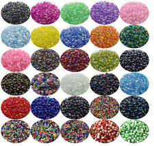 500 Pcs/32g 4mm Czech Glass Seed Spacer Beads Jewelry Making DIY  Crafts