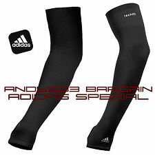 ADIDAS Men Women TechFit Muscle Support Compression Sleeve Arm Warmer Microfiber