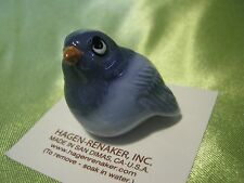 Hagen Renaker Blue Bird Figurine Miniature 00167 Porcelain Ceramic NEW Free Ship