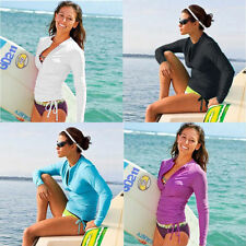 New Women Summer Scuba & Snorkeling Wetsuit Rash Guard Surfing Surf Swimwear