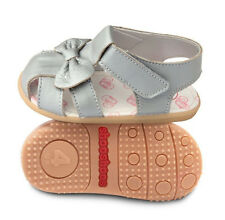 Shooshoos Girl's Silver Bird Sandals