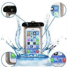 Waterproof Underwater Pouch Dry Bag Case Cover For iPhone Cell Phone 7.5x4 inch