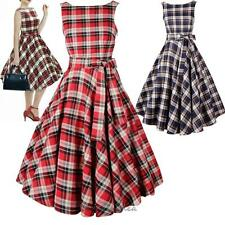 Lady Vintage Rockabilly 50s 60s Retro Pinup Swing Petticoat Cocktail Party Dress