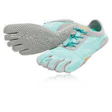 Vibram KSO EVO Womens Blue Five Finger Running Gym Sports Shoes Trainers