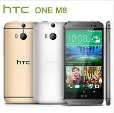 HTC One M8 4G LTE Unlocked 5'' Android Smartphone - 32GB Dual 4 MP - 3 Colors!