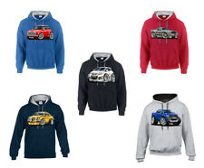 WickedHoods Cartoon Car Hoodie Volkswagen VW Golf MK6 GTi/GTD Sweatshirt