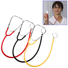 Pro Double Dual Head Stethoscope for Doctor Nurse Hospital School Clinic Home