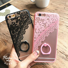 Silicone Soft Elegant Matte Case for iPhone6/ 6splus case cover design cool lace