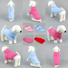 Pet Dog Cat Hoody Sweater Hoodie Coat Puppy Shirt Jacket clothes Apparel New